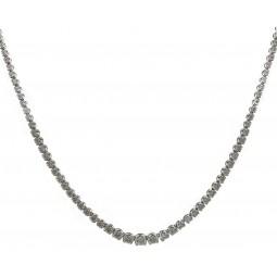 Stunning Graduated Diamond Necklace
