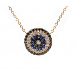 Black and Blue Pendant