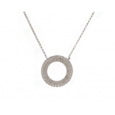 Triple Row Circle Pendant