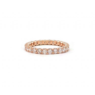 U-Set Rose Gold Wedding Band