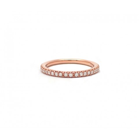 2mm Rose Gold Wedding Band