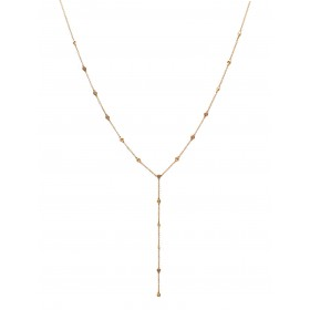 Beautiful Diamond by the Yard Lariat Necklace