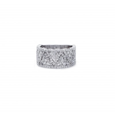 Zig Zag Diamond Ring
